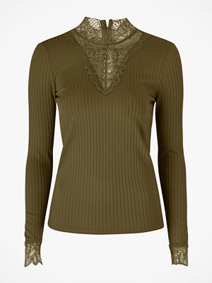 Y.a.s Topp Blace Highneck Top