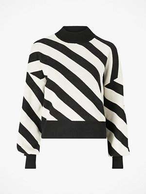 Vero Moda Tröja vmLabi Stripe LS Mockneck Blouse