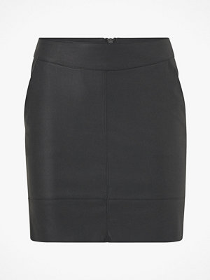 Only Kjol onlBase Faux Leather Skirt