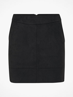 Only Kjol onlJulie Faux Suede Bonded Skirt