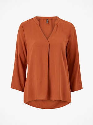 Only Blus onlFirst 4/5 V-neck Shirt