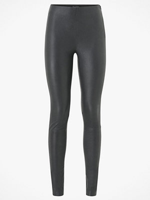 Selected Femme Skinnleggings slfSylvia MW Stretch Leather Leggings