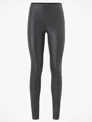 Leggings & tights - Selected Femme Skinnleggings slfSylvia MW Stretch Leather Leggings