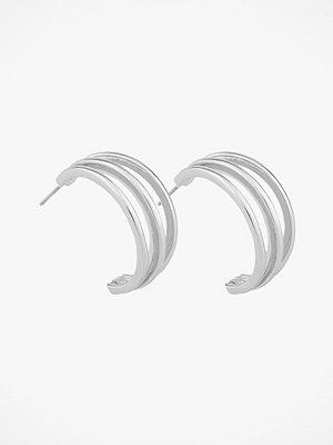 SNÖ of Sweden smycke Örhängen Mette Wide Oval Earring