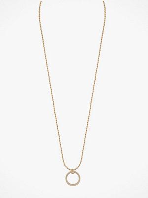SNÖ of Sweden smycke Halsband Madeleine Round Pendant Necklace