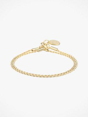 SNÖ of Sweden smycke Armband Madeleine Double Bracelet