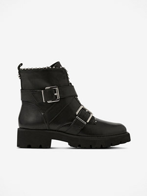 Boots & kängor - Steve Madden Bikerboots Hoofy Ankle Boot