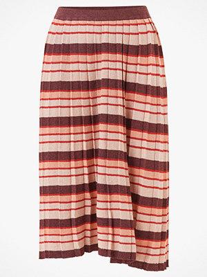 Vila Kjol viRibba Knit Stripe Midi Skirt