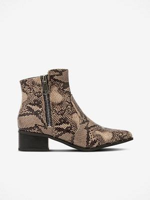 Duffy Boots med dragkedja