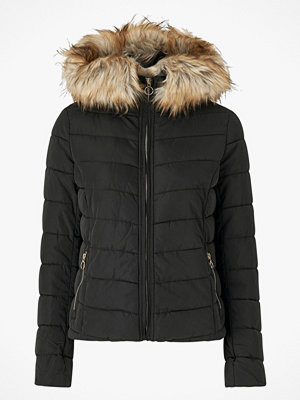 Only Jacka onlNew Ellan Quilted Fur Hood Jacket