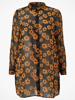 Zizzi Långskjorta xMerle L/S Shirt