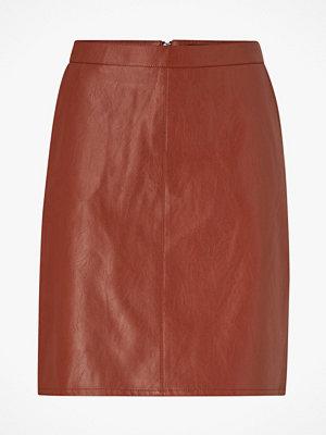 Soaked in Luxury Kjol SL Tamara PU Skirt