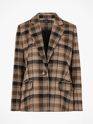 Kavajer & kostymer - Soaked in Luxury Kavaj Indie Check Blazer
