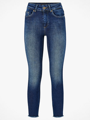 Only Jeans onlBlush Mid Skinny Ankle Raw