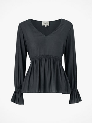Second Female Blus Florenza LS V-neck Blouse