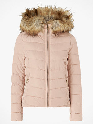 Only Jacka onlNew Ellan Quilted Fur Hood Jacket