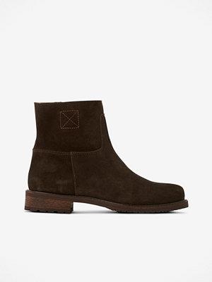 Apair Boots i mocka med ullfoder