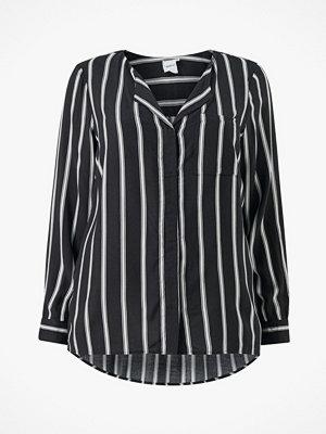 Junarose Blus jrVeronica LS Stripe Shirt