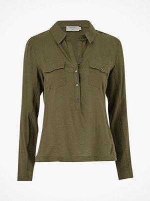 Cream Skjorta Honey Shirt