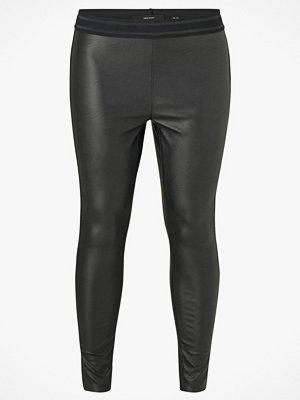 Leggings & tights - Vero Moda Curve Leggings vmStorm NW PU Legging Curve