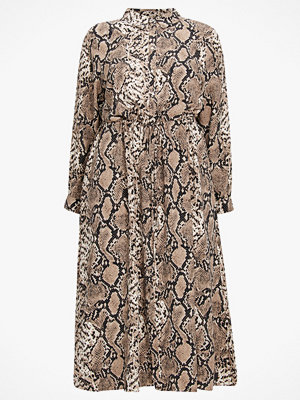 Zizzi Maxiklänning xSnake L/S Shirt Dress