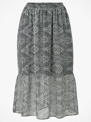 Zizzi Kjol mCaisley Long Skirt