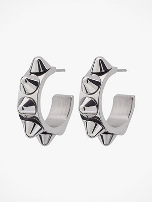 Edblad smycke Örhängen Peak Creole Earrings Small Steel