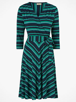 Jumperfabriken Klänning Celia Multistripe Jersey dress