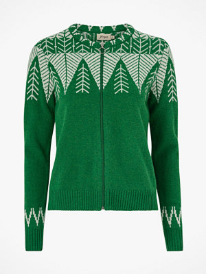 Jumperfabriken Cardigan Leaf