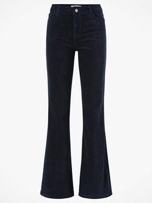 co'couture Manchesterbyxor Denzel Corduroy Boot Cut svarta