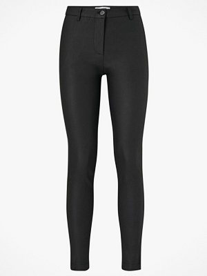 co'couture Byxor New Julia Coated Pant svarta