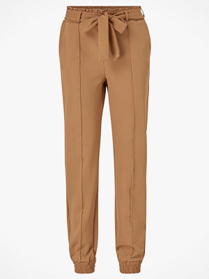 Gina Tricot Byxor Ines Trousers beige