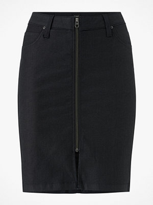 Lee Kjol High Waist Zip Skirt