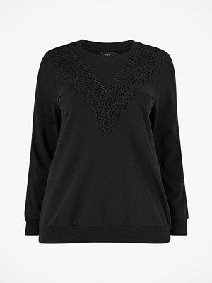 Tröjor - Zizzi Sweatshirt xDia L/S Sweat