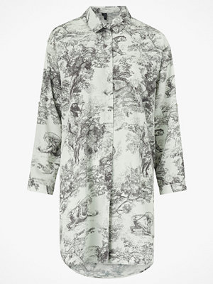 Vero Moda Långskjorta vmElly Animal Oversized Shirt