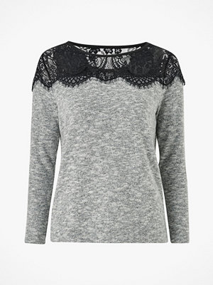 Only Tröja onlIdaho Lace L/S Pullover