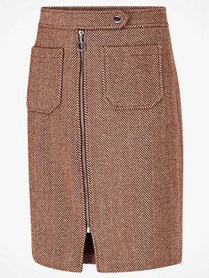 Vero Moda Kjol vmToya HW Herringbone Skirt