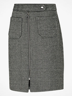 Kjolar - Vero Moda Kjol vmToya HW Herringbone Skirt
