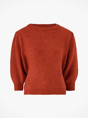Vila Tröja viCurva Knit O-neck 3/4 Sleeve Top