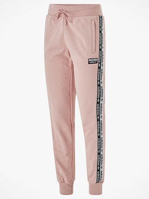 Adidas Originals Joggingbyxor Cuffed Pants persikofärgade med tryck
