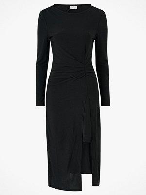 Vila Klänning viBorneo L/S Draped Midi Dress