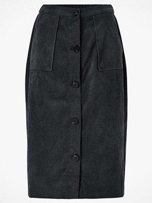Vila Manchesterkjol viJosy Button HW Skirt från Vila