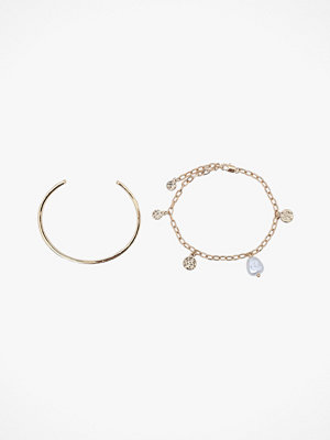 Pieces smycke Armband pcIlly Bracelet Set Key, 2 st