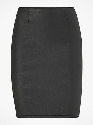 Pieces Kjol pcParo HW Coated Skirt