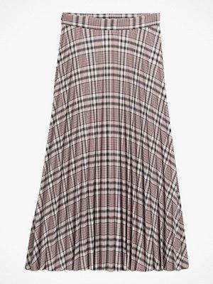 La Redoute Lång, rutig kjol med plissering