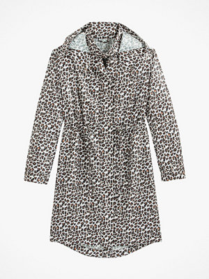 La Redoute Leopardmönstrad vindjacka med huva
