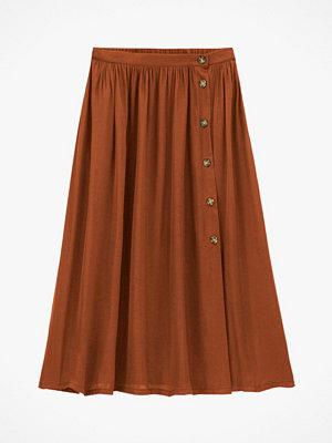 La Redoute Halvlång, utställd kjol med knäppning