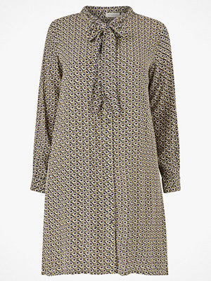 Only Carmakoma Klänning carRetroreturn LS Knee Shirt Dress