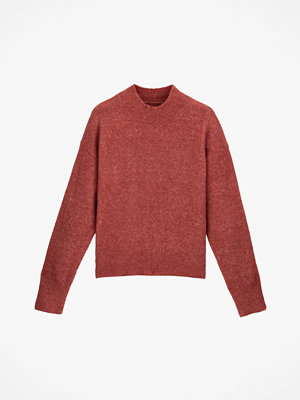 La Redoute Stickad tröja med hög halskant