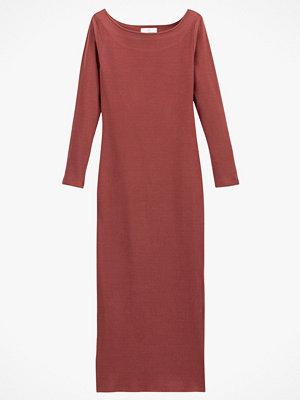 La Redoute Lång, stickad klänning i figurnära modell